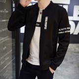 Jual Korea Fashion Style Slim Tampan Jaket Jaket Pria Jk11 Hitam Oem Grosir