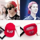 Daftar Harga Korea Fashion Style Pelindung Terik Matahari Topi Topi Markas Besar Merah Oem