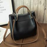 Review Korea Fashion Style Tas Bahu Dengan Satu Tali Jinjing Tas Besar Tas Hitam Oem