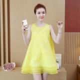 Spesifikasi Korea Fashion Style Terlihat Langsing Gaun Peri Kuning Baju Wanita Dress Wanita Gaun Wanita Yang Bagus Dan Murah