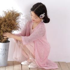 Korea Fashion Style Tipis Selendang Perempuan Udara Kemeja Merajut Source · Korea Modis Gaya Tipis Bagian