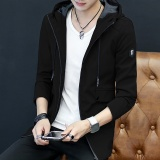 Harga Korea Fashion Style Slim Jaket Angin Baru Jaket Hitam Jaket Pria Jaket Jeans Jaket Denim Other Terbaik
