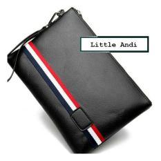 Review Koreabag Clutch Handbag Tas Tangan Pria Cowok Import Black Yh1039 Koreabag
