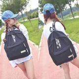 Jual Korean Backpack Tas Punggung Nylon Import Sc 026 Fun Collection