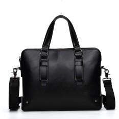 Diskon Korean Briefcase Essentials For Men Kulit Asli Retro Tas Laptop Briefcase Messenger Tas Bahu Tas Bisnis Tas Crossbody Intl Oem