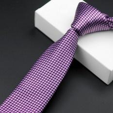 Korean Casual Karir Tie Polyester Groom Pernikahan Meriah Bergaris Pria Dasi HB17-Intl
