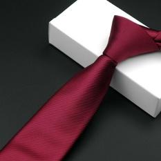 Korean Casual Karir Tie Polyester Groom Pernikahan Meriah Bergaris Pria Dasi HB20-Intl