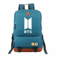Diskon Korean Fashion Backpack Bts Students Backpack Shoulder Relief Women Men Laptop Backpack Large Capacity Shoulder Bag Travel Street Intl Oem Di Tiongkok
