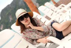Ulasan Tentang Fashion Korea Topi Fedora Warna Sabuk Kulit Blok Matahari Pantai Panama Topi Topi Jerami Adapula Biru Kopi Merah Biru Krem Berisik