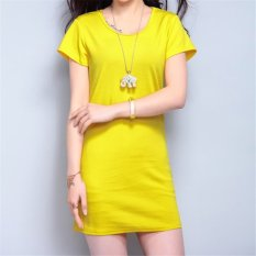 korean-fashion-summer-solid-color-short-sleeveless-mini-dress-hds056-yellow-4756-6219817-fe1c6a4fca0dc6c8c26b43c1f3a19c4f-catalog_233 Kumpulan List Harga Dress Muslimah Warna Kuning Teranyar minggu ini