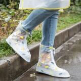 Toko Korea Fashion Sepatu Penutup Tahan Air Wanita Pria Hujan Salju Boots Sepatu Covers Mengepang Sole Slip Tahan Aus Tahan Over Payung Pola Sepatu For Bersepeda Outdoor Berkemah Memancing Taman Lengkap