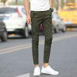 Pria Kasual Celana Buah Warna Celana Santai Fashional Sembilan Celana Untuk Pria Slim Celana Skinny Pants Intl Diskon Tiongkok