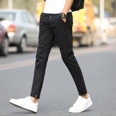 Beli Pria Kasual Celana Buah Warna Celana Santai Fashional Sembilan Celana Untuk Pria Slim Celana Skinny Pants Intl Lengkap