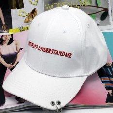 Miliki Segera Korea Baru Teduh Cap Gd Right Wing Pria Dan Wanita Dengan Yang Sama Baseball Hat Putih 2 Intl