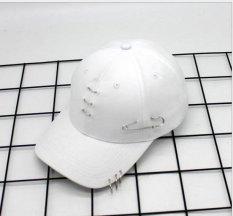 Spesifikasi Korea Baru Teduh Cap Gd Right Wing Pria Dan Wanita Dengan Yang Sama Baseball Hat White6 Intl Bagus
