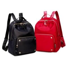 Spek Korean Oxford Backpack Tas Punggung Tas Ransel Tas Fashion Import Hitam Tas Fashion Import