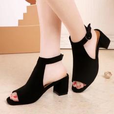 Beli Sandal Summer Musim Panas Baru Sandal Summer Korea Fashion Style Dengan Hijau Muda Secara Angsuran