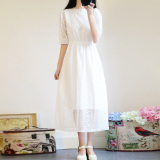 Tips Beli Korean Style White Slimming Lace Dress Dress Putih Yang Bagus