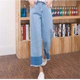 Beli Korea Trendi Women Casual Jeans Street Harem Celana Longgar Baru Spring Wanita Denim Sambatan Jeans Ukuran Intl Online Tiongkok