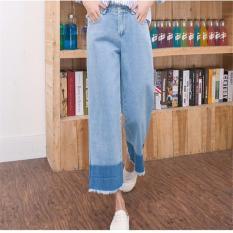Beli Korea Trendi Women Casual Jeans Street Harem Celana Longgar Baru Spring Wanita Denim Sambatan Jeans Ukuran Intl