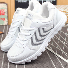 Spek Korean Version Of The Female Models Of Leisure Sports Shoes Breathable Ultra Light Shoes Intl Tiongkok