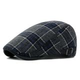 Spesifikasi Kotak Kotak Yang Topi Baret Retro Wol Ke Depan Topi Inggris Lange Murah Berkualitas