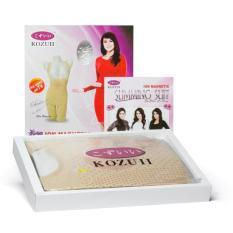 Kozuii Slimming Suit ORIGINAL ASLI Jaco Tv Shopping Kozui Model Olla Ramlan Korset Pelangsing - CREAM