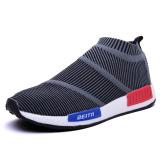 Perbandingan Harga Kualitas Atas Sepatu Olahraga Pria Sepatu Lari Super Cahaya Luar Ruangan For Bernapas Atlet Sepatu Abu Abu Oem Di Tiongkok