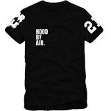 Penawaran Istimewa Kuhong New Hood Oleh Air Hba X Telah Trill Kanye West Edison Tee T Shirt Lengan Pendek Hitam Intl Terbaru