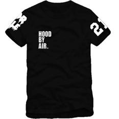 Jual Kuhong New Hood Oleh Air Hba X Telah Trill Kanye West Edison Tee T Shirt Lengan Pendek Hitam Intl Import