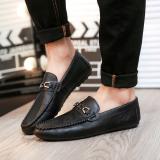 Diskon Kulit Hitam Laki Laki Ringan Sepatu Mengemudi Pria Sepatu T126 Hitam Kecil Sepatu Pria Sepatu Kulit Sepatu Kerja Sepatu Formal Pria Tiongkok