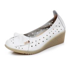 Katalog Kulit Musim Panas Perempuan Sandal Summer Putih Oem Terbaru