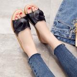 Jual Kulit Perempuan Wanita Hamil Pan Sepatu Sandal Wanita Dan Sandal Hitam Branded