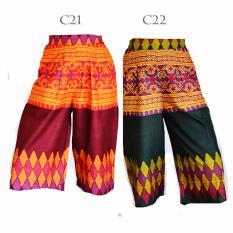 Toko Kulot Bawahan Celana Batik Songket Lc21 Termurah