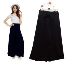 Kulot rok celana panjang wafle jumbo