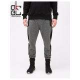 Harga Kurt Men S Jogger Pants With Pocket And Zipper Dark Grey Murah