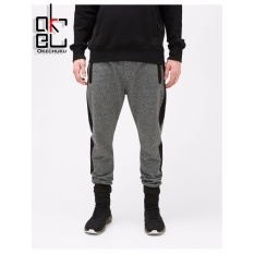 Jual Kurt Men S Jogger Pants With Pocket And Zipper Dark Grey Okechuku Ori