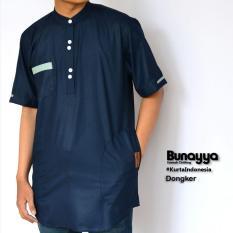 Kurta Gamis Ikhwan Pakistan Bunayya Sunnah Clothing Original Warna Donker