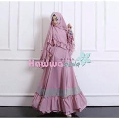 Spesifikasi Kyoko Fashion Syari Aesha Pink Murah