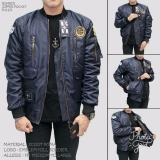Berapa Harga Kz7 Jaket Bomber Premium Bgsr Pocket Pria Keren Navy Biru Tua Bgsr Di Jawa Barat