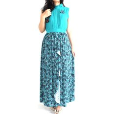 La Haute Adriana Dress Perempuan - Biru