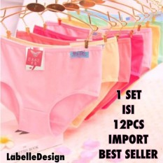 Labelledesign 12PCS IMPORT CELANA DALAM UNDERWARE HIGHQUALITY 06db08d92d