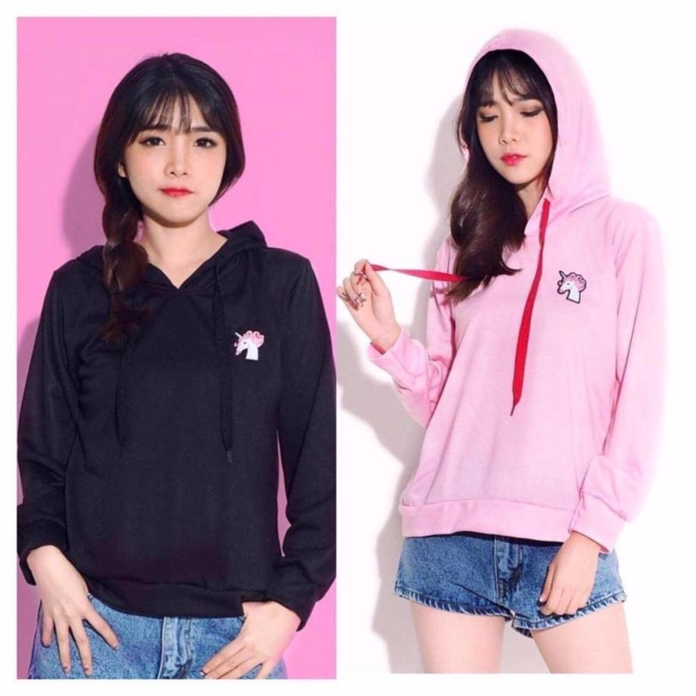 Beli Sweater Bts Black Tempat Blanja Berbagai Produk Terbaru Hanya Wanita Good Quality Labelledesign Hoodie Unicorn Cute Hitam