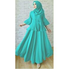Review Terbaik Lf Dress Gamis Baju Kurung Syari Hijab Muslim Syar I Dress Wanita Muslimah Terusan Balotely Lili 7T Tosca