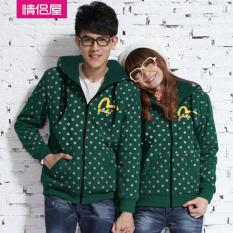 Beli Lf Jaket Couple Terbagus Polka Jacket Couple Bintik Dot Jaket Parka Sepasang Jacket G*rl Jaket Pria Lc Hijau D2C Online Indonesia