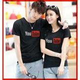 Jual Lf Kaos Lengan Pendek Youtube Kaos Oblong Fans Club Kaos Cowok Polos Tshirt Pasangan Pakaian Kembar Kaos Pria Wanita Lc D30 Hitam D3C Dki Jakarta