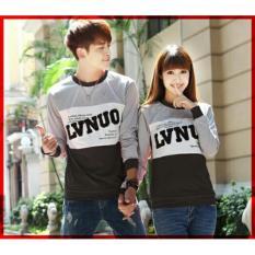 Jual Beli Online Lf Kaos Lengan Panjang Lvnuo Kaos Polos Hitam Sweater Pasangan T Shirt Pasangan Pakaian Kembar Kaos Pria Wanita Lc D30 Abu Hitam D3C