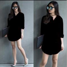 Harga Lf Kemeja Wanita Lengan Panjang Shindy Long Hem Formal Kasual Santai Kemeja Cewek Tunik Shinta Tunik Wanita Polos Nr Hitam Kemeja Formal Wanita Kemeja Kerja Wanita Long Hem Wanita Atasan Wanita Kemeja Casual Wanita D2C Ladies Fashion Dki Jakarta