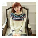 Beli Lf Sweater Lengan Panjang Elenna Baju Tebal Sweater Lily Kaos Sweater Rajut Sweater Lengan Panjang Nr D3C Kredit Dki Jakarta
