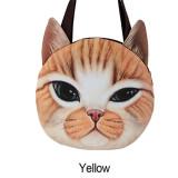 Jual Lady Fashion Baru 3D Seperti Kehidupan Kucing Lucu Yang Dapat Membuat Orang Yang Melihatnya Tertawa Terbahak Bahak Atau Justru Kesal Karena Merasa Wajah Ritsleting Casing Bahu The Shopping Bag Import
